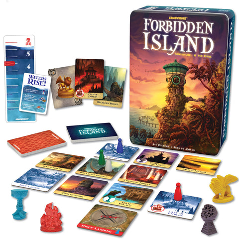 Forbidden Island - Gamewright - Finnegan's Toys & Gifts
