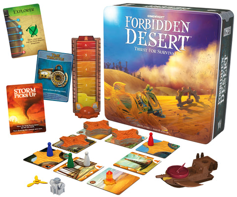 Forbidden Desert - Gamewright - Finnegan's Toys & Gifts