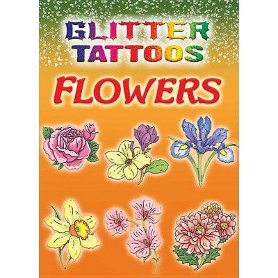 Glitter Tattoos Flowers
