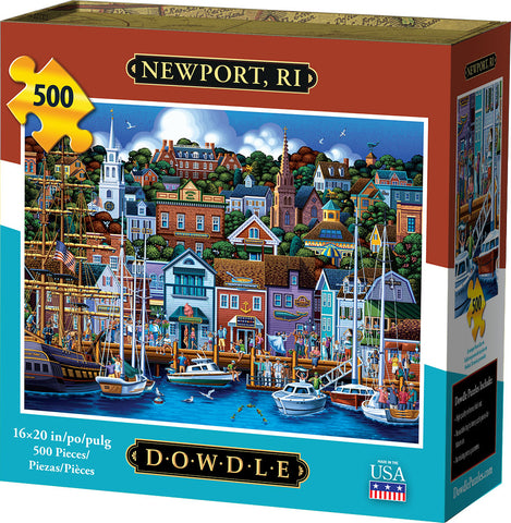 Newport, RI 500 pc Puzzle