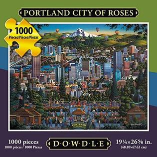 Portland City of Roses 1000 pc Puzzle