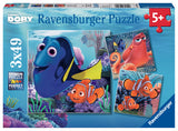 Finding Dory Puzzles  (3 x 49 pcs)