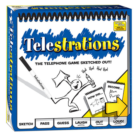 The Original Telestrations - Finnegan's Toys & Gifts
