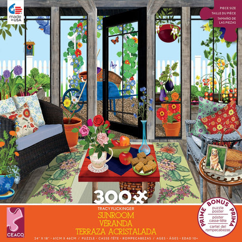 Tracy Flickinger - Sunroom (300 pcs)