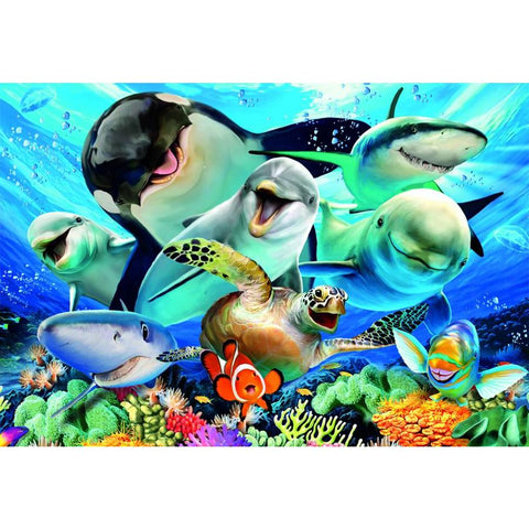 Underwater Selfies 100 pc Puzzle XXL