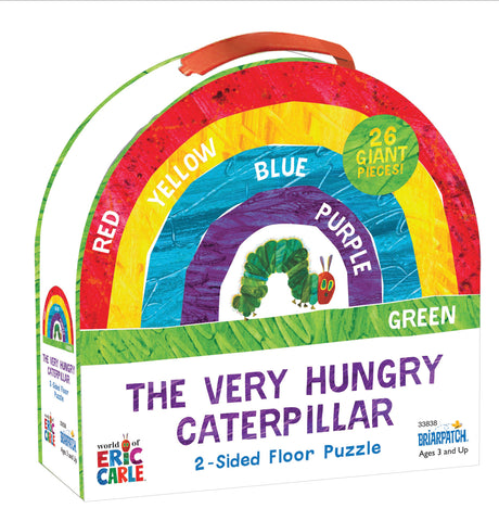 Very Hungry Caterpillar 2-Sided Floor Puzzle (26 giant pcs)