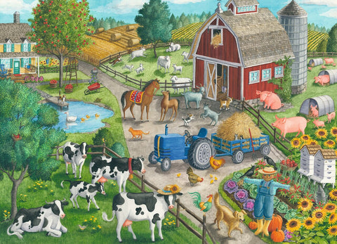 Home on the Range Puzzle (60 pcs)
