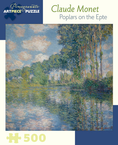 Monet - Poplars on the Epten 500 pc Puzzle