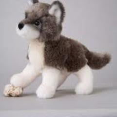 Douglas Ashes Wolf Plush - Finnegan's Toys & Gifts