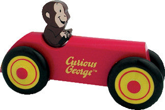 Curious George Wooden Car - Finnegan's Toys & Gifts