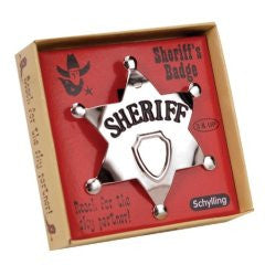 Sheriff's Badge - Finnegan's Toys & Gifts