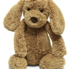 "Jellycat Bashful Toffee Puppy 12"" - Finnegan's Toys & Gifts"