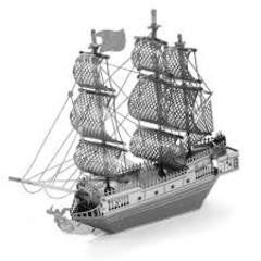 Metal Earth - Pirate Ship Black Pearl - Finnegan's Toys & Gifts