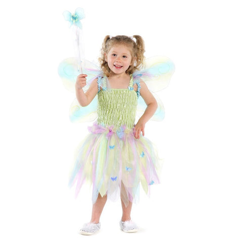 Butterfly Dress with Wings and Wand (Medium)