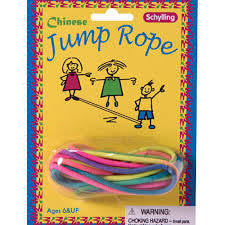 Chinese Jump Rope - Finnegan's Toys & Gifts