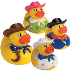 Cowboy Rubber Ducks - Finnegan's Toys & Gifts