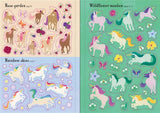 Unicorn Little Stickers Book