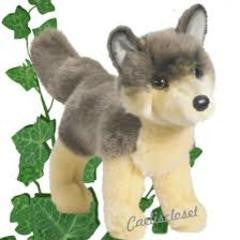 "Douglas Dancer Wolf 10"" Plush - Finnegan's Toys & Gifts"