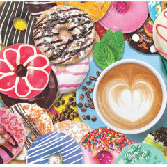 Springbok Donuts n' Coffee  500 pc Puzzle