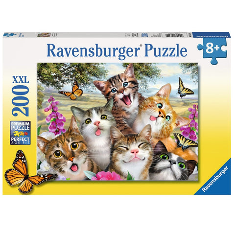 Ravensburger - Friendly Felines XXL Puzzle (200 pcs)