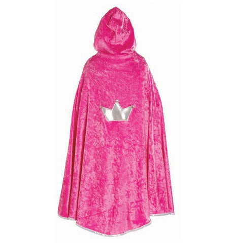 Princess Cape Dark Pink Medium - Finnegan's Toys & Gifts