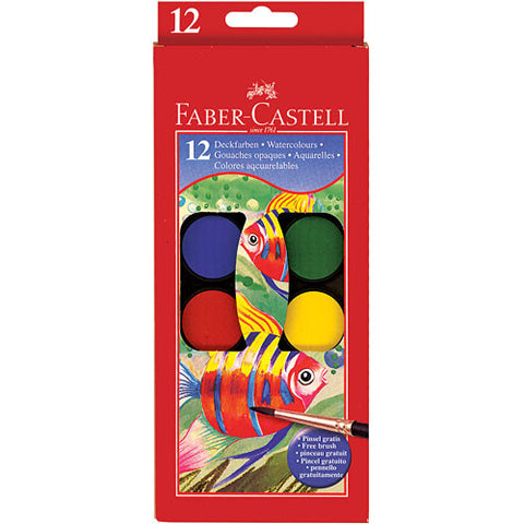 Faber-Castell 12 ct Watercolor Paint Set - Finnegan's Toys & Gifts