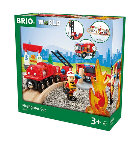 BRIO 33815 Firefighter Set - Finnegan's Toys & Gifts - 1