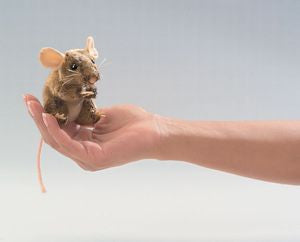 Mini Field Mouse Puppet - Finnegan's Toys & Gifts