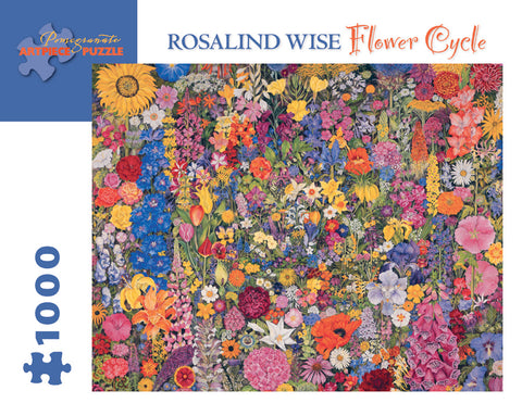 Flower Cycle - Rosalind Wise 1000 pc Puzzle