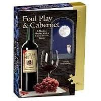 Foul Play & Cabernet Murder Mystery Puzzle - Finnegan's Toys & Gifts