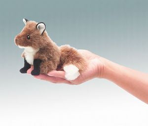 Mini Fox Puppet - Finnegan's Toys & Gifts