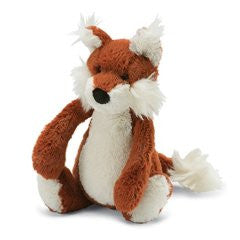 "Jellycat Bashful Fox 7"" Plush - Finnegan's Toys & Gifts"