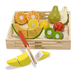 Wooden Cutting Fruit Set - Finnegan's Toys & Gifts - 2