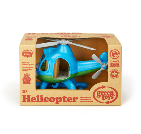 Green Toys Helicopter - Blue - Finnegan's Toys & Gifts - 1