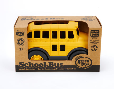 Green Toys School Bus - Finnegan's Toys & Gifts
