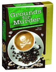 Grounds for Murder Puzzle - Murder Mystery Puzzle - Finnegan's Toys & Gifts
