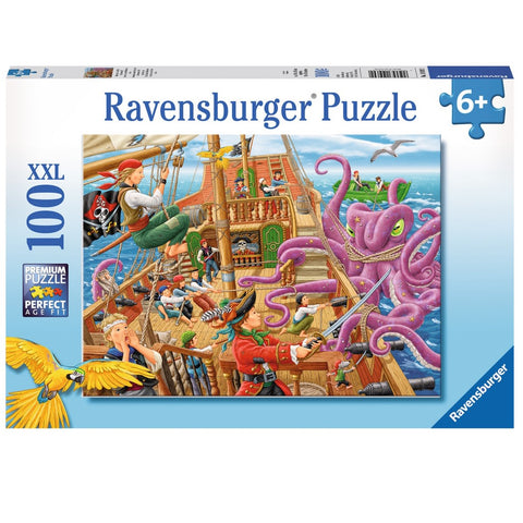 Ravensburger - Pirate Boat Adventure XXL Puzzle (100 pcs)