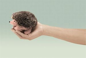 Mini Hedgehog Puppet - Finnegan's Toys & Gifts