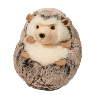 "Douglas Spunky Hedgehog Large 8"" Plush - Finnegan's Toys & Gifts"