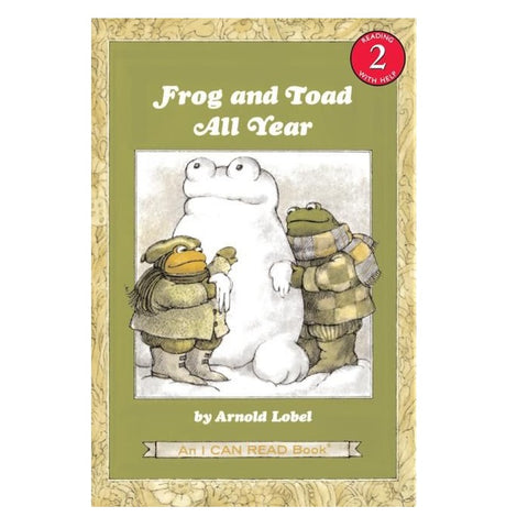 Frog and Toad All Year - Arnold Lobel (Paperback)