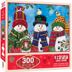 MasterPieces Holiday - Snowy Afternoon Friends 300pc EzGrip Puzzle