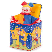 Jack in-the-box - Finnegan's Toys & Gifts