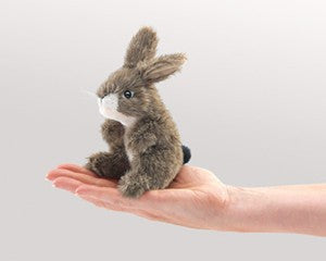 Mini Jack Rabbit Puppet - Finnegan's Toys & Gifts