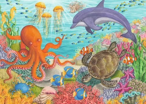Ocean Friends Puzzle (35 pcs)