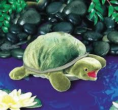 Baby Turtle Puppet - Finnegan's Toys & Gifts