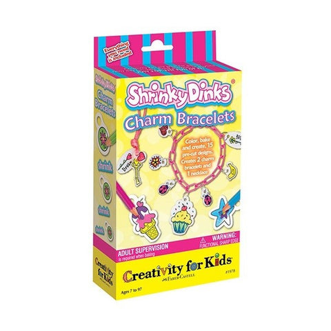 Creativity for Kids - Shrink Fun Charm Bracelets - Finnegan's Toys & Gifts