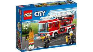 Lego City 60107 Fire Ladder Truck - Finnegan's Toys & Gifts - 1