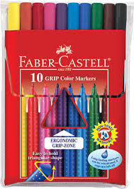Faber-Castell 10ct GRIP Color Markers - Finnegan's Toys & Gifts