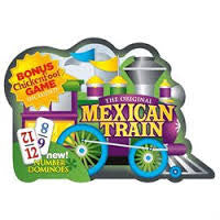 Mexican Train Dominoes Deluxe Tin - Finnegan's Toys & Gifts