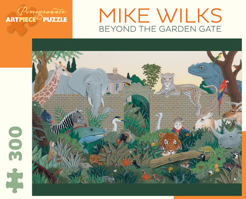 Wilks Beyond the Garden Gate 300pc Puzzle